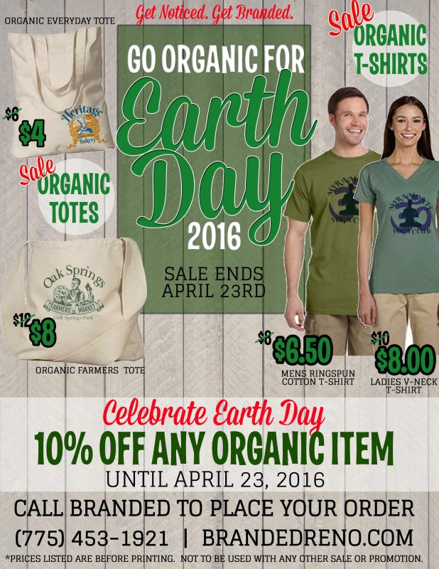 Earth Day Custom T-shirts