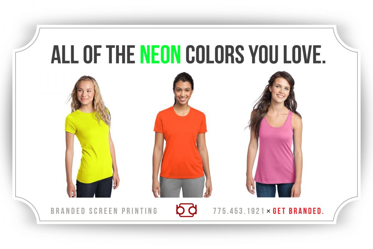 Neon Screen Printing Apparel