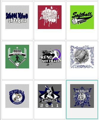 Softball Jersey Designs