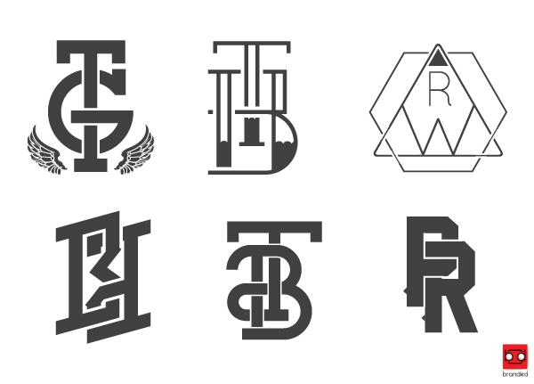the branded guide to graphic design monograms branded